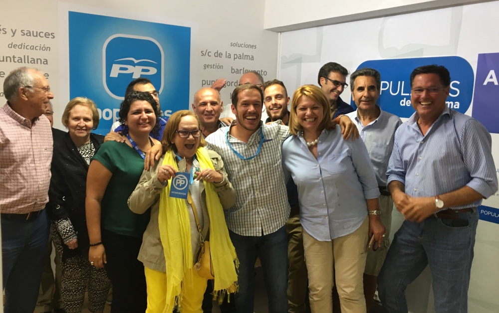 El PP abre expediente de expulsión a los consejeros en el Cabildo de La Palma